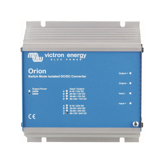 Régulateur survolteur-dévolteur de tension Orion 7-35/12-3A, isolation galvanique