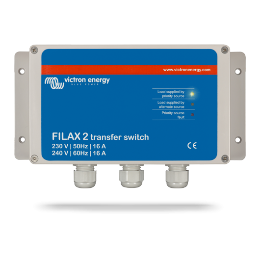 Commutateur automatique Filax-2 50Hz-240V/60Hz