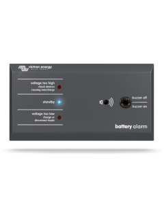 Alarme de batterie GX