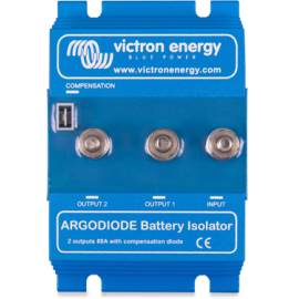 Répartiteur 2 batteries 80A à diode argo 80-2SC