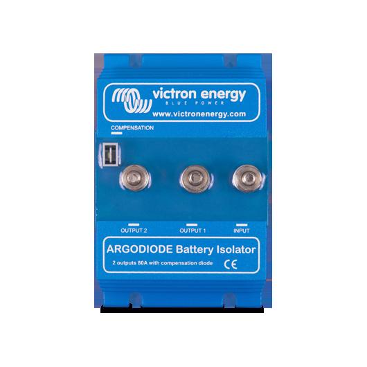 Répartiteur 2 batteries 80A à diode argo 80-2SC