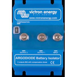 Répartiteur 2 batteries 120A à diode argo 120-2AC