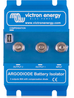 Répartiteur 2 batteries 120A à diode argo 120-2AC