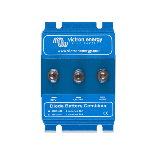 Coupleur deux batteries 80A à diode Argo BCD802