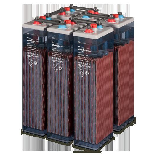 Batterie solaire 910 OPzS C120-C10