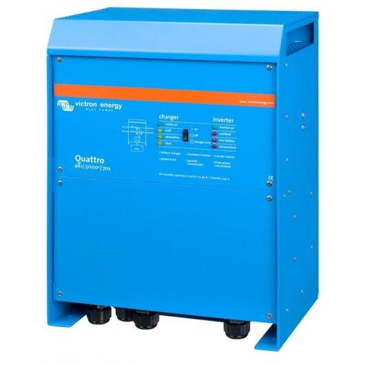 Convertisseur/Chargeur Quattro 48/5000 120V - Victron Energy