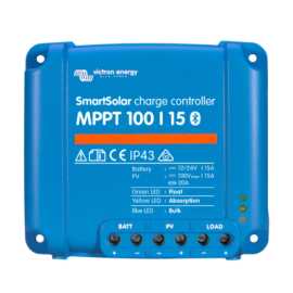 Régulateur de charge SmartSolar MPPT 100 12V / 24V 15/20A