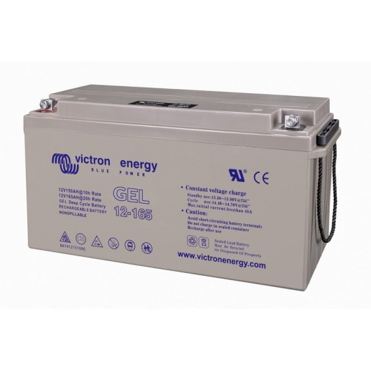 Batterie 12V/165Ah Gel Deep Cycle