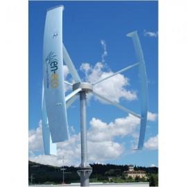 Eolienne verticale Sky Line EN-ECO SL-One 1kW Réseau vue de près