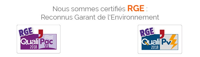Certifications RGE