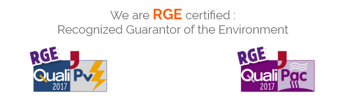 RGE Certifications