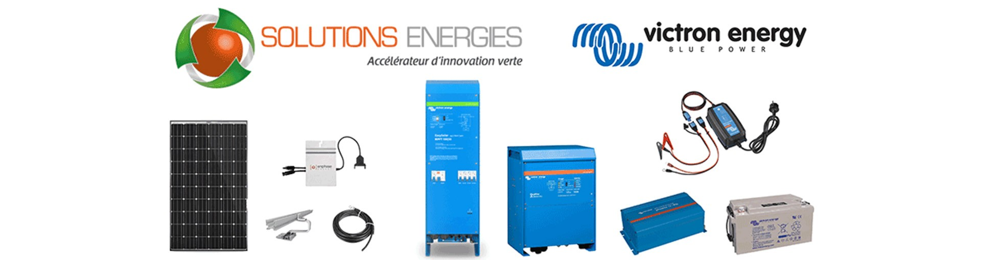 Revendeur officiel Victron Energy