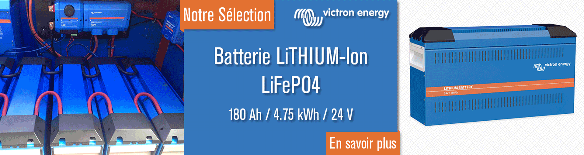 Batterie lithium ion LifePo4 Victron Energy