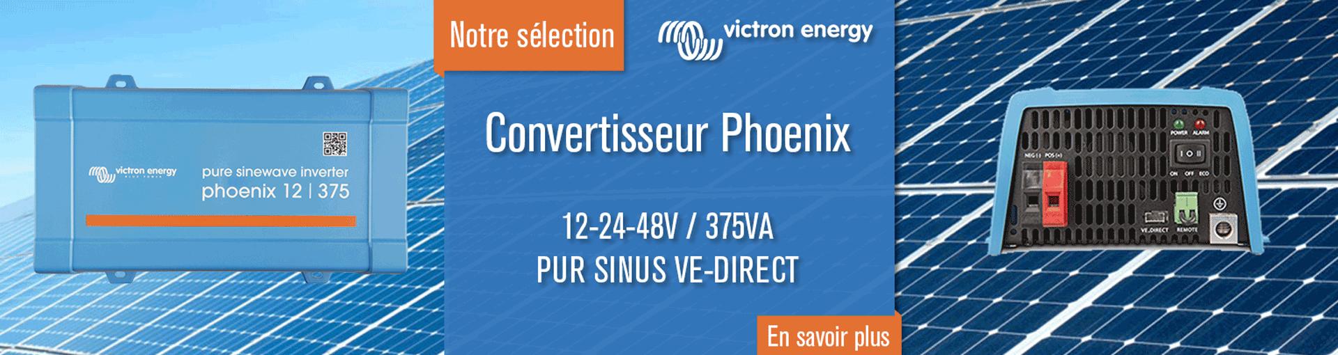 Convertisseur Phoenix 12V 375VA - Victron Energy